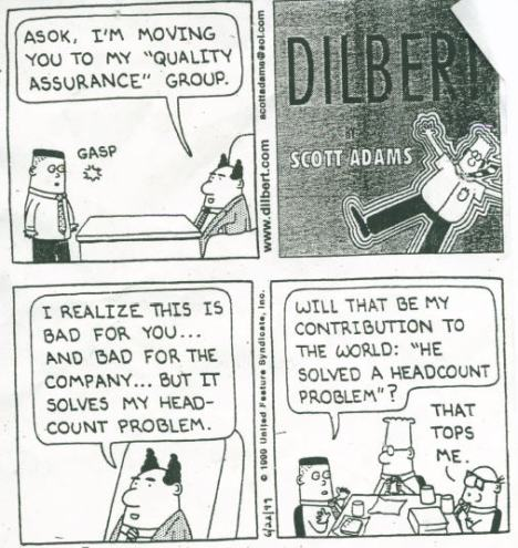 Dilbert - Solving My HR Problem