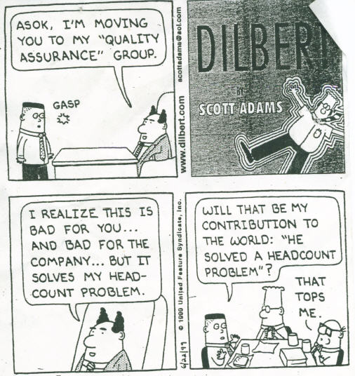 Dilbert - Solving My HR Problem