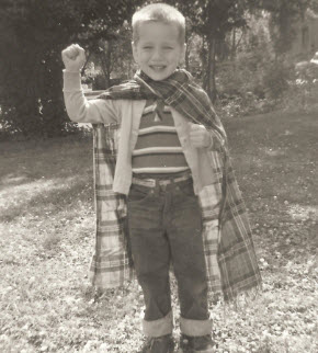 Me - In One of My Superman Phases (1962)