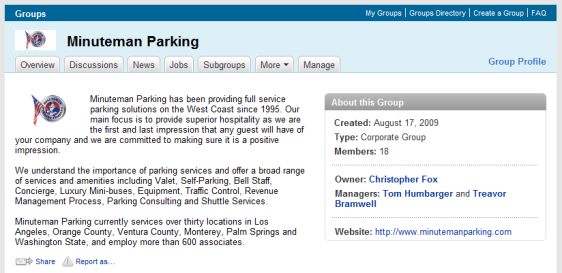 Minuteman Parking Group on LinkedIn