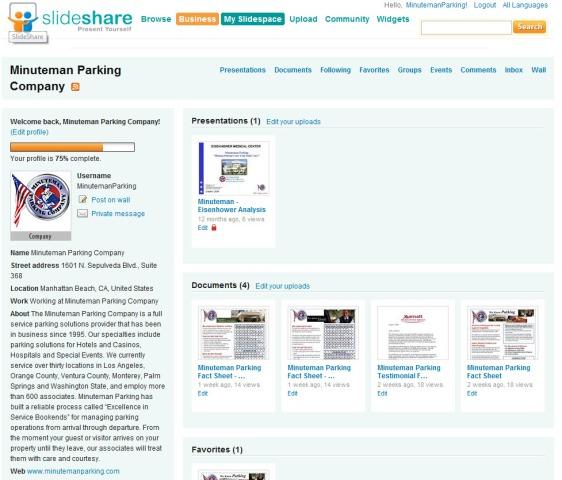 Slideshare Company Profile
