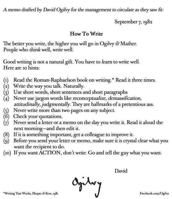 Hints for Writing Well