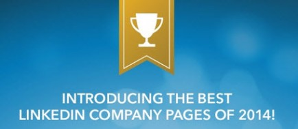 Best LinkedIn Company Pages for 2014 Banner