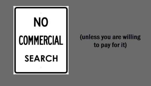 No Commercial Search